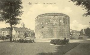 Feldpostkarte Erster Weltkrieg Tournai