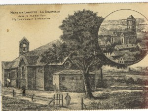 Feldpostkarte Erster Weltkrieg Ablain-Saint-Nazaire