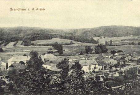 Feldpostkarte Erster Weltkrieg Grandham