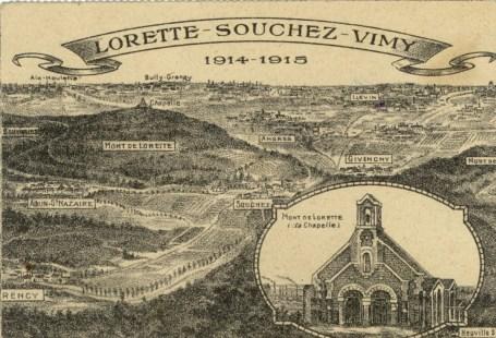 Feldpostkarte Erster Weltkrieg Souchez