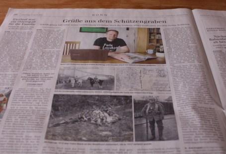 Opas Krieg im General-Anzeiger Bonn