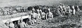 Stellungskämpfe in französisch Flandern