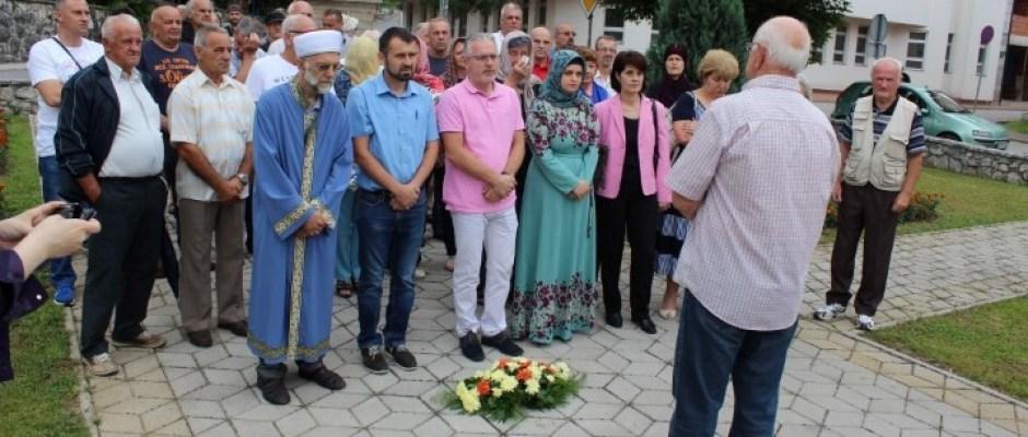 Obilježena godišnjica pogibije komandanta Mirsada Crnkića i njegovog pratioca Nihada Bužimkića
