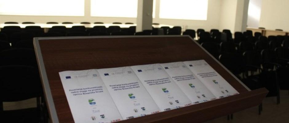 """Sutra završna konferencija projekta """"Povećanje konkurentnosti radne snage na prostoru općine Bosanska Krupa"""""""