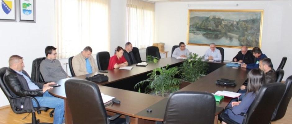 Zbog najavljenih obilnih padavina i mogućih poplava zasjedao Štab CZ Bosanska Krupa