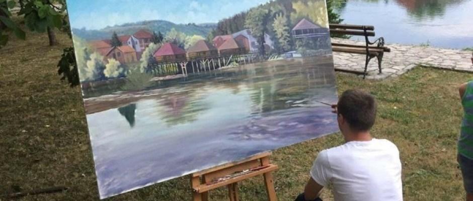 """U petak izložba umjetničkih slika """"Pola stoljeća Likovne kolonije Krušnica"""""""