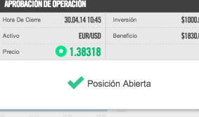 Broker EmpireOption operacion 2