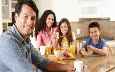 Creación de hábitos alimentarios saludables para la vida