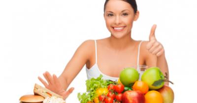 Buena salud y estado físico a través de una dieta y nutrición adecuadas