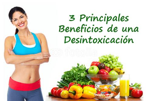 ¿Por qué una desintoxicación? Cuáles son los beneficios?