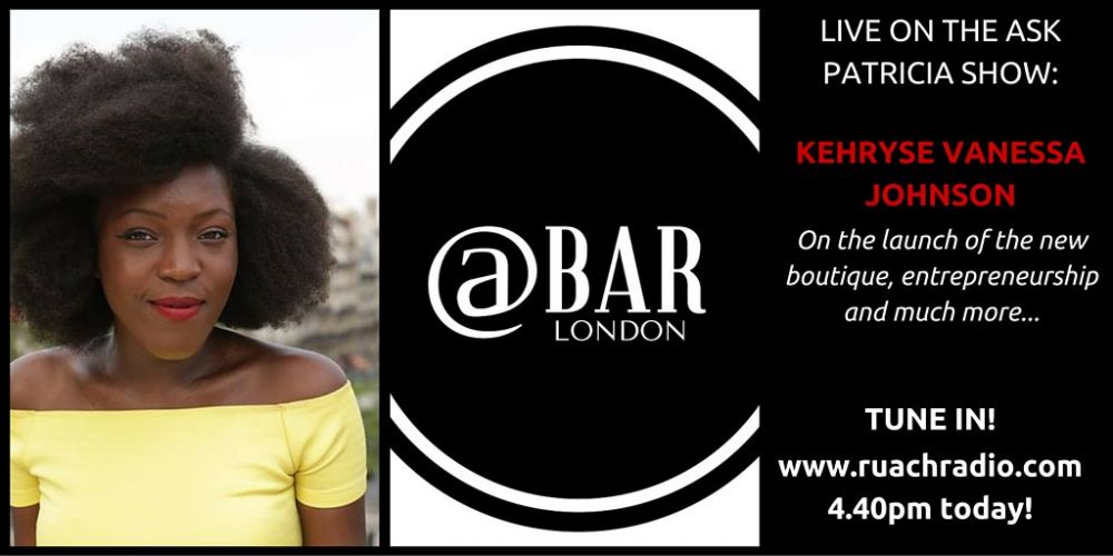 Press: @Bar Ldn Head of Content, Kehryse on Ruach Radio
