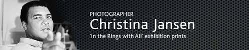 Christina Jansen Photographer of the late Muhammed Ali, works to be displayed at BUFF Awards 2016