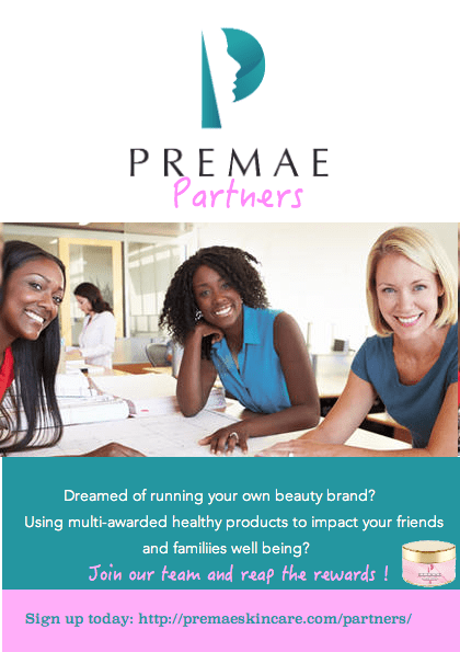 Premae Skincare launches Premae Partners, Dec 3rd 2016