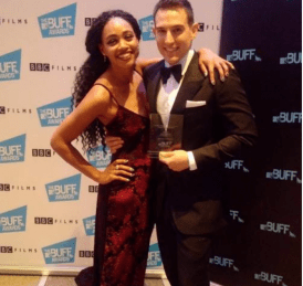 Film News reports Sam Benjamin and Kyla Frye as new BUFF Award Hosts