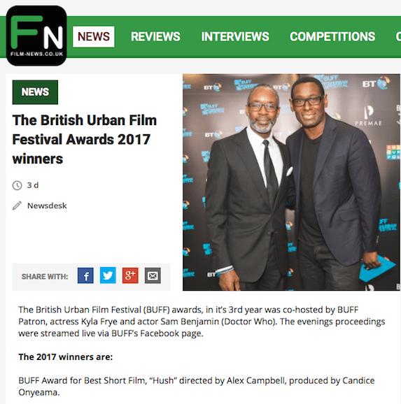 @filmnewsweb featured the @buffawards winners