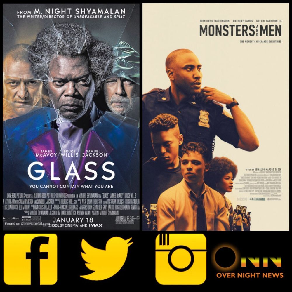 . @Overnight_news launches with exclusive interviews from Samuel L Jackson (GLASS) + Drake backed debut director, Reinaldo Marcus Green (MONSTERS & MEN)