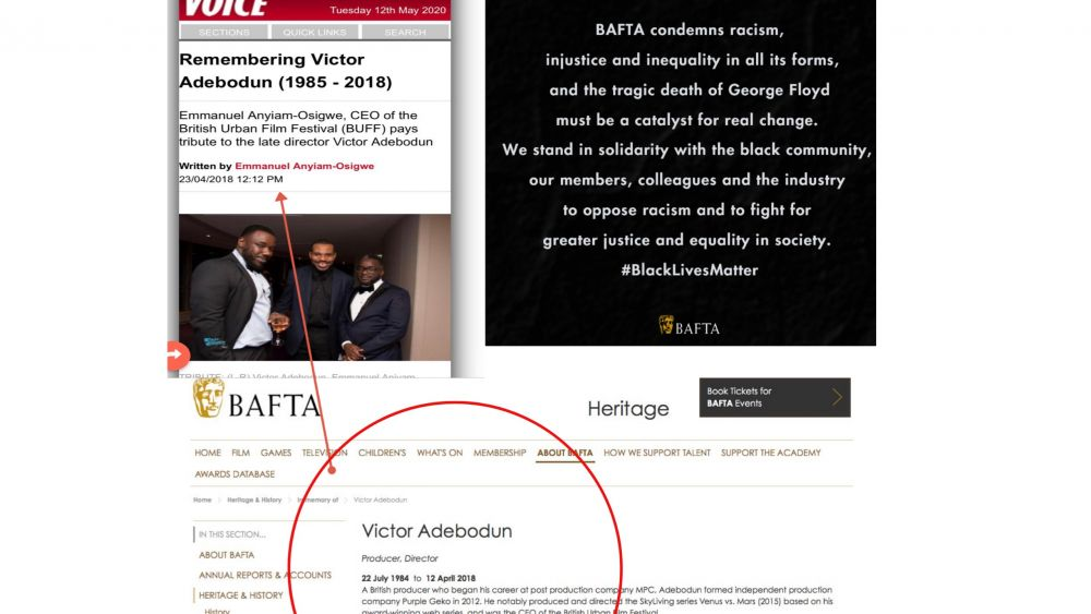 BAFTA hypocrisy exposed over Black Lives Matter tweet