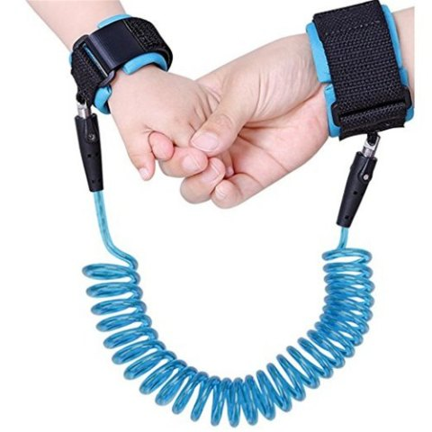 48% off Baby Child Anti Lost Safety Wrist Link Harness Strap Rope Leash Walking Hand Belt Band Wristband for Toddlers – BLUE Gearbest Coupon Promo Code