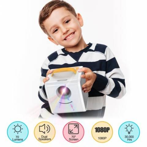 29% off Excelvan Q2 Children's Toy Projector Gearbest Coupon Promo Code