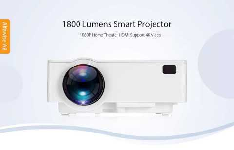 Alfawise A8 projector - Alfawise A8 1800 Lumens 1080P Smart Projector Gearbest Coupon
