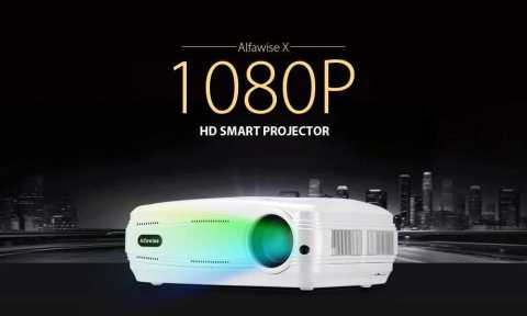 Alfawise X 1080p hd smart projector - Alfawise X 1080P HD Smart Projector Gearbest Coupon