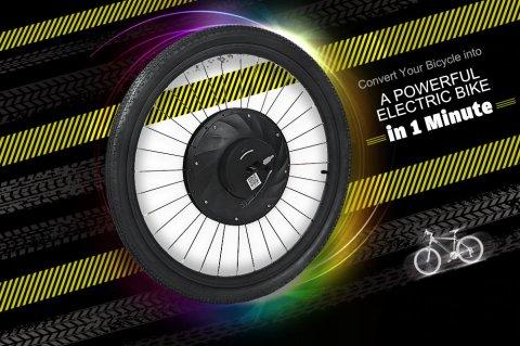 YUNZHILUN iMortor - iMortor 26 Bicycle Wheel Banggood Coupon Promo Code [Czech Warehouse]