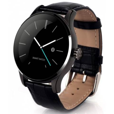 27% off K88H Bluetooth Smart Watch Heart Rate Monitor Smartwatch – BLACK LEATHER BAND Gearbest Coupon Promo Code