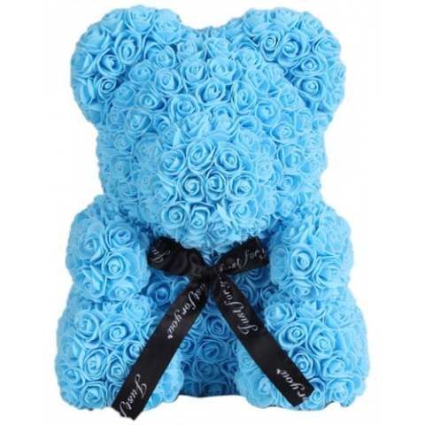 44% off Valentine Day Gift Artificial Roses Bear Wedding Party Decoration – DEEP SKY BLUE Gearbest Coupon Promo Code