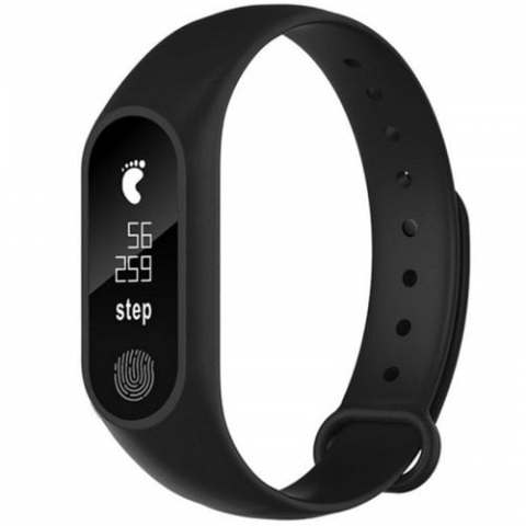 31% off M2 Waterproof Fitness Smart Bracelet Heart Rate Monitor for iPhone Android – BLACK Gearbest Coupon Promo Code