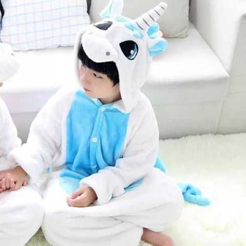 10% off Flannel Unicorn Children Home Pajamas – DEEP SKY BLUE 120 SIZE 115-125 CM Gearbest Coupon Promo Code