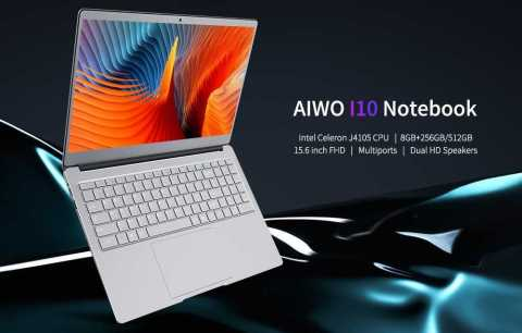 AIWO I10 - AIWO I10 Notebook Gearbest Coupon Promo Code [J4105 8+512GB SSD]