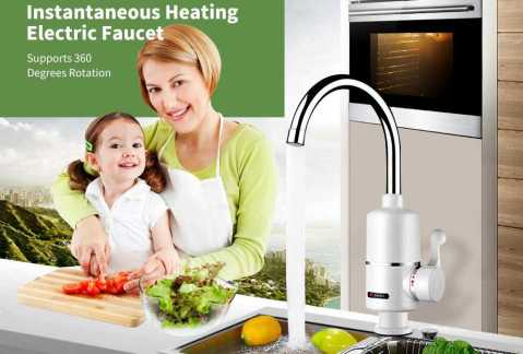 instantaneous heating electric faucet