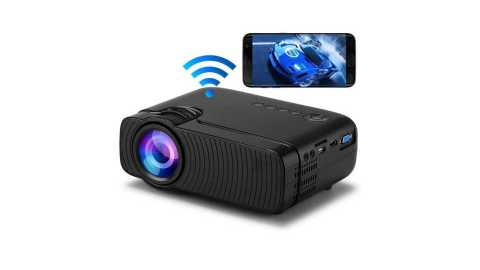 YJ333S - YJ333S WIFI Mini LED Projector Banggood Coupon Promo Code
