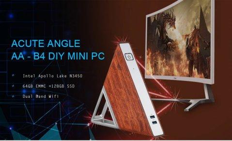 Acute Angle AA B4 mni pc - Martrea Acute Angel AA - B4 Intel Apollo N3450 Mini PC Gearbest Coupon Promo Code