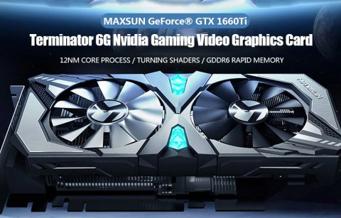MAXSUN GeForce GTX 1660Ti Terminator - MAXSUN GeForce GTX 1660Ti Terminator 6G Nvidia Graphics Card Gearbest Coupon Promo Code