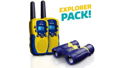 USA Toyz Kids Walkie Talkies with Binocular - USA Toyz Kids Walkie Talkies with Binocular Amazon Coupon Promo Code