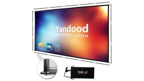 Yandood Portable Projector Screen 120 inch - Yandood Portable Projector Screen 100 inch Amazon Coupon Promo Code