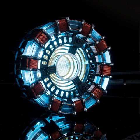 19.99 MK1 Acrylic Tony DIY Arc Reactor Lamp Arcylic Kit Illuminant LED Flash Light Set Banggood Coupon Promo Code