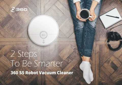 360 S5 Smart Robot Vacuum Cleaner - 360 S5 Smart Robot Vacuum Cleaner Banggood Coupon Promo Code [International Edition]