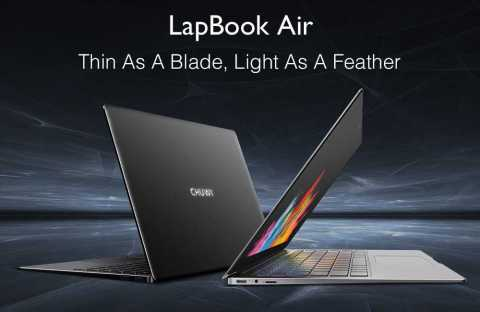 CHUWI LapBook air - CHUWI LapBook Air 14.1 Laptop Banggood Coupon Promo Code [8+128GB]