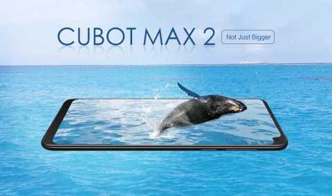 cubot max 2 4g phablet