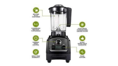 Cleanblend ULTRA Countertop Blender - Cleanblend ULTRA Countertop Blender Amazon Coupon Promo Code