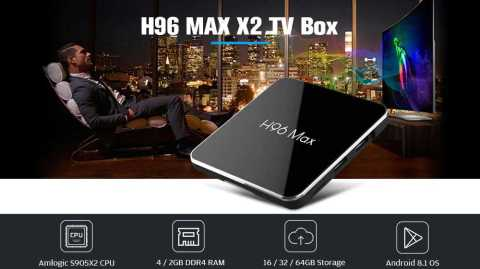 H96 Max X2 - H96 Max X2 TV Box Gearbest Coupon Promo Code [4+64GB]
