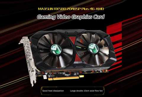 MAXSUN RX580 2048SP Plus - MAXSUN RX580 2048SP Plus 4G AMD Graphics Card Gearbest Coupon Promo Code
