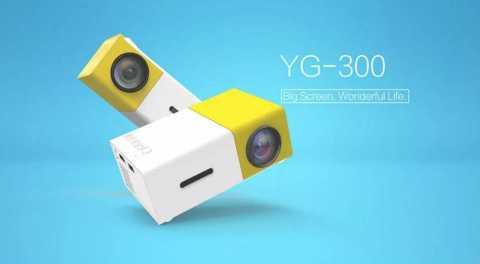YG 300 - YG-300 LCD Projector Banggood Coupon Promo Code [UK Warehouse]