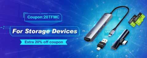 banggood memory card - Extra 20% off Memory Cards, Flash Drive, Card Reader, Phone Adapter Banggood Coupon Promo Code