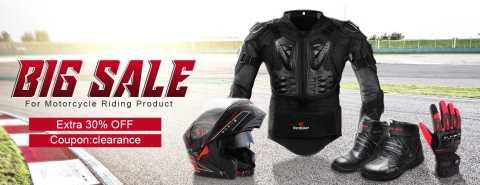 banggood motorcycle riding coupon - 30% off Motorcycle Riding Products Banggood Coupon Promo Code