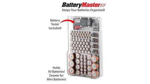 battery master battery capacity tester storage organizer box