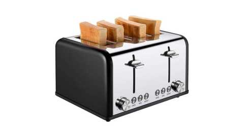 CUSIBOX 4 Slice Toaster - CUSIBOX 4 Slice Toaster 1650W Amazon Coupon Promo Code
