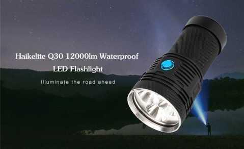 Haikelite Q30 - Haikelite Q30 LED Flashlight Banggood Coupon Promo Code